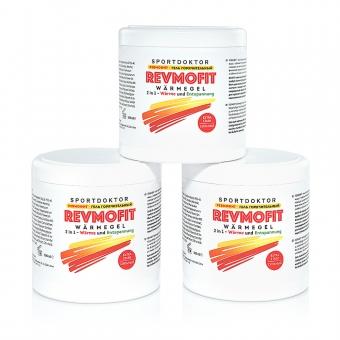 RevmoFit Wärmegel 3er Set
