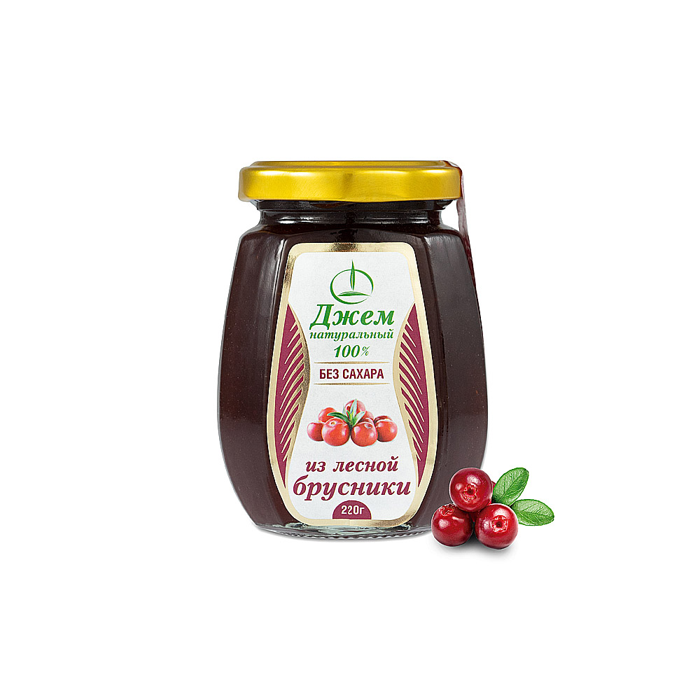 Konfitüre aus Preiselbeeren mit Fruchtzucker 220 g