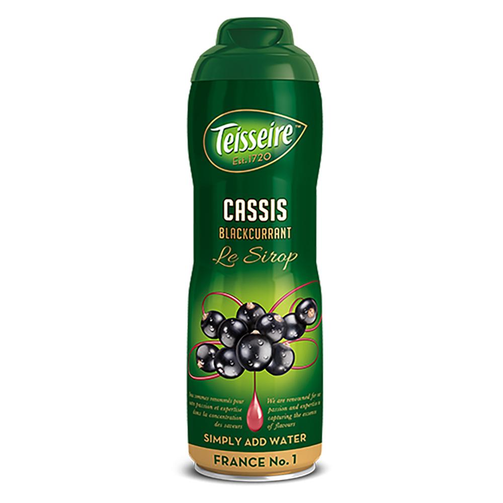 Teisseire Sirup schwarze Johannisbeere 600 ml