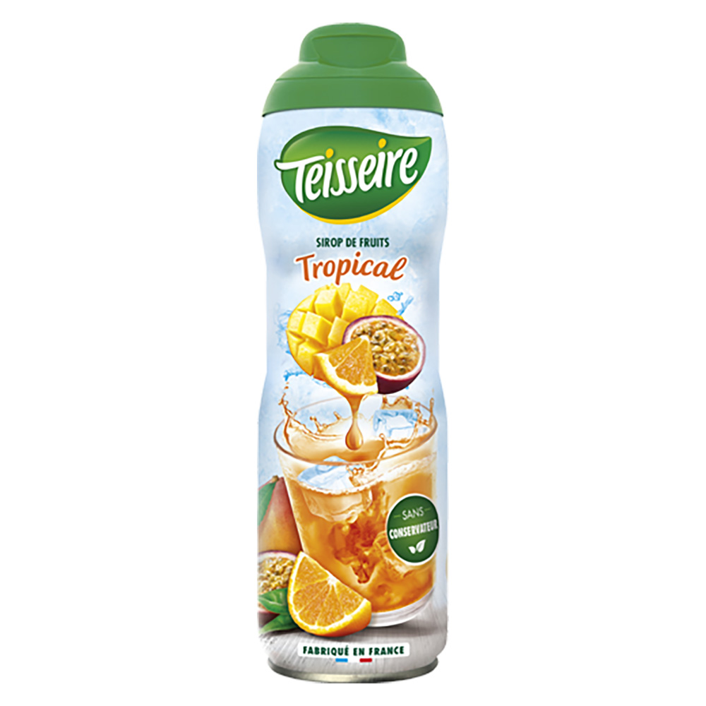 Teisseire Sirup Tropical Fruits Exotic 600 ml