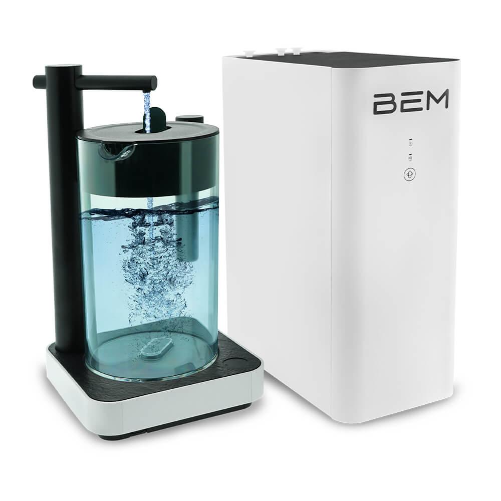 BEM Robin: Wasserfilter | Filteranlage | Festwasseranschluss | Wasserfiltersystem | Osmoseanlage | Wasserfilteranlage | Hochqualitative Materialien und Modernes Design | Umkehrosmoseanlage