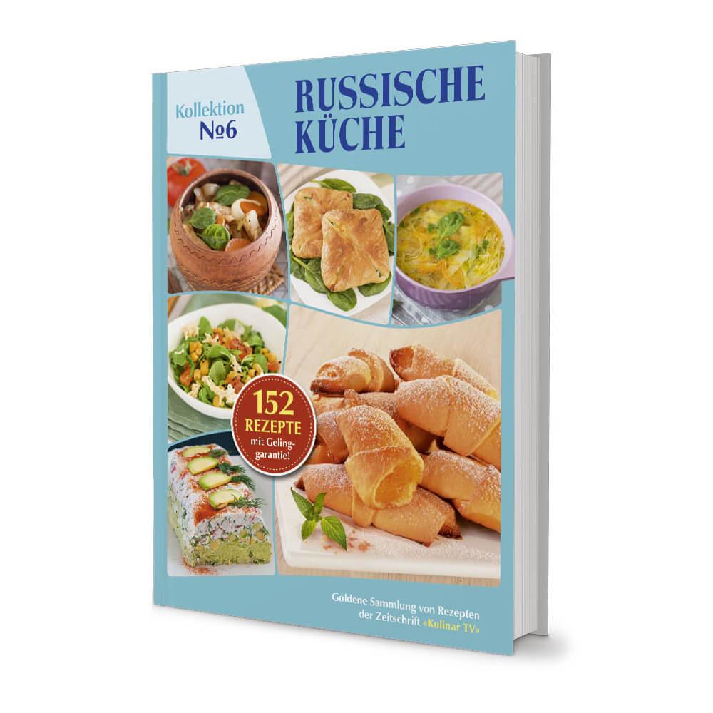 Kochbuch Russische Rezepte Kollektion Nr. 6